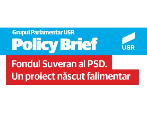 Fondul Suveran al PSD. Un proiect născut falimentar
