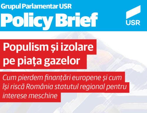 Populism și izolare pe piața gazelor – Cum pierdem finanțări europene și cum își riscă România statutul regional pentru interese meschine